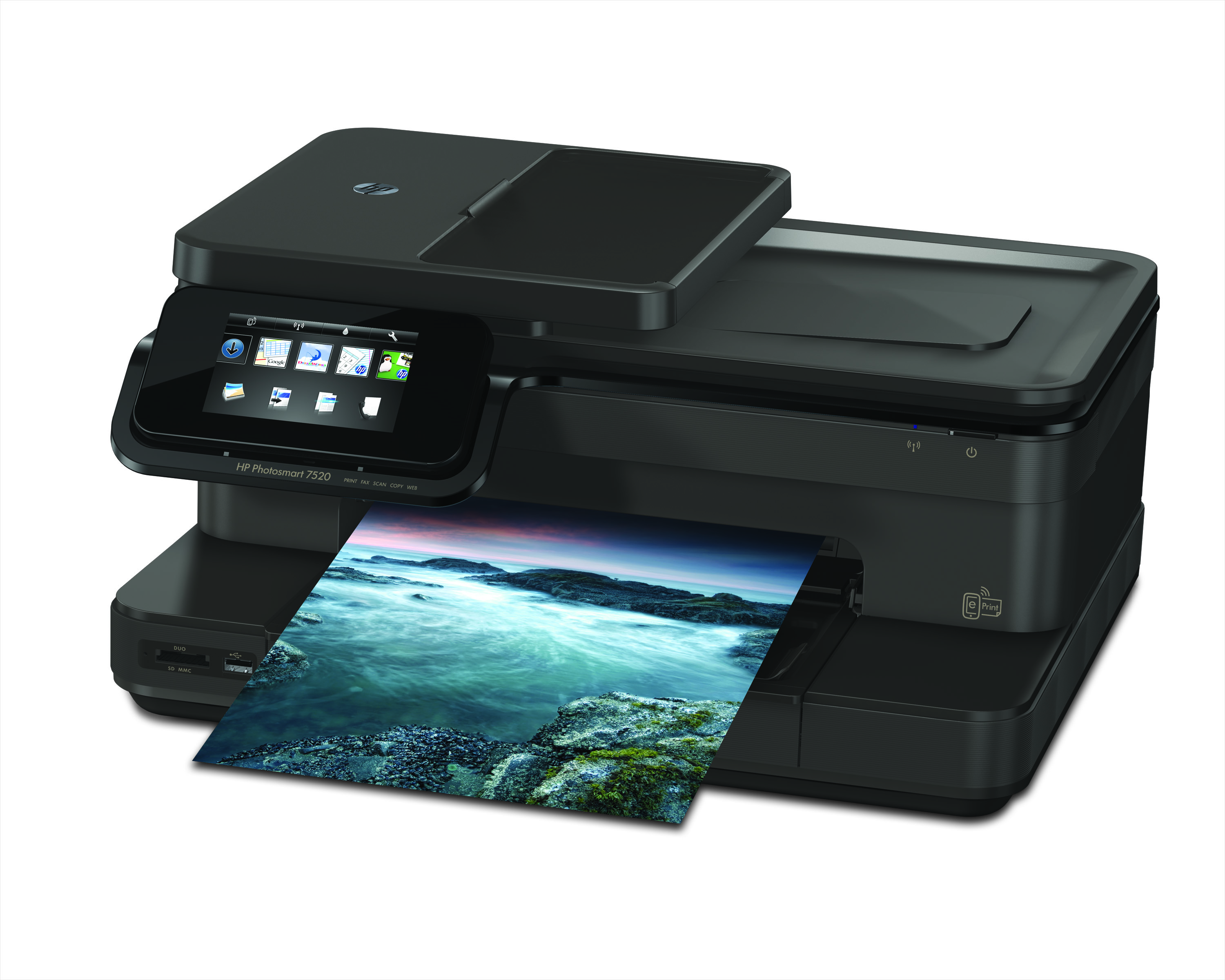 hp 7520 fax hook up Shop bestbuycom for a network-ready all-in-one wireless printer designed to help you print, scan, copy or fax like a pro.