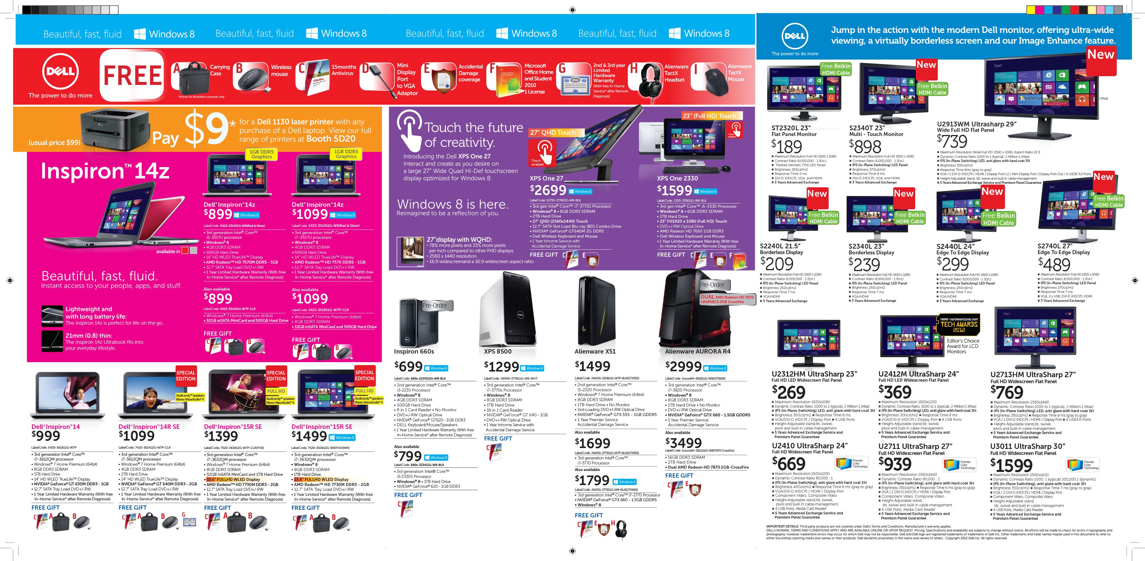 November 2012 genghui 39 s personal homepage for Sales brochure template free