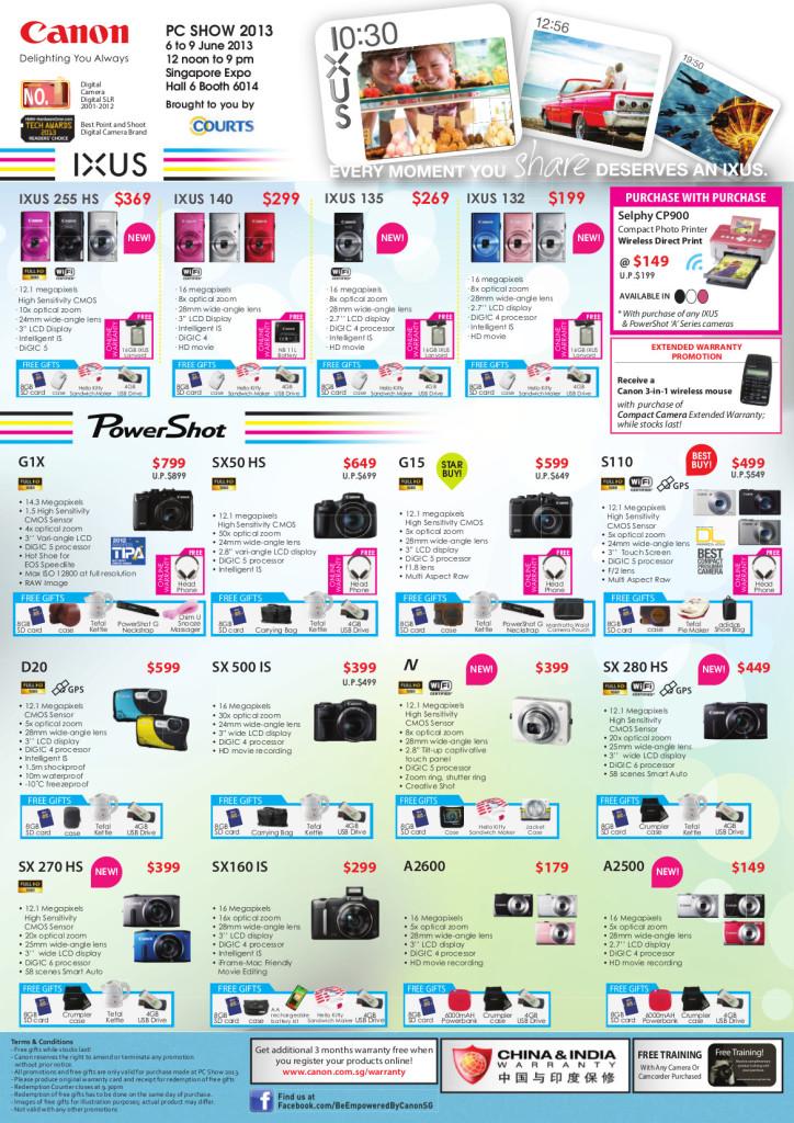 Canon PC Show 2013 - PowerShot IXUS