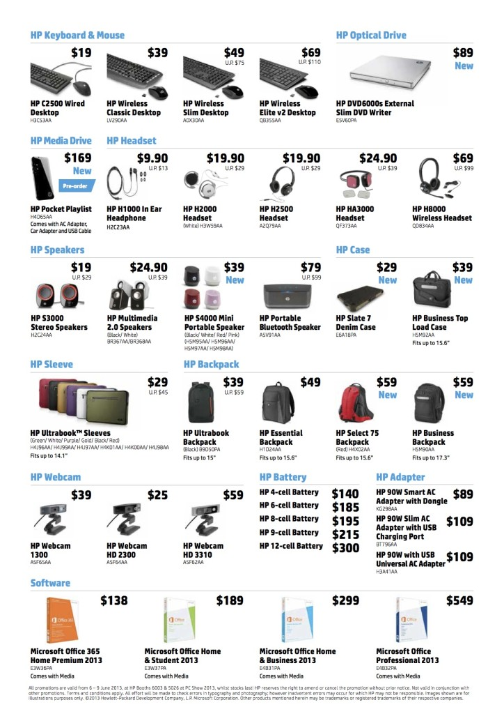 HP PC Show_Accessories Flyer_Page 2