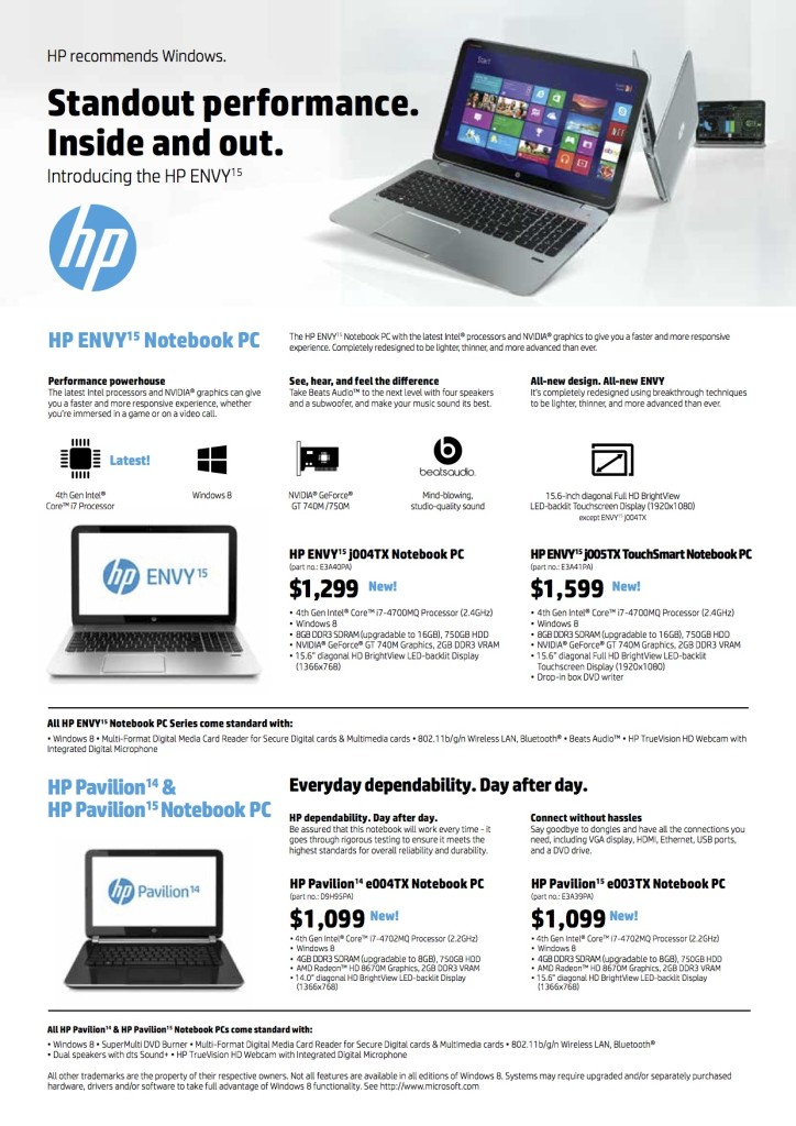 HP PC Show_Introducing the HP ENVY15