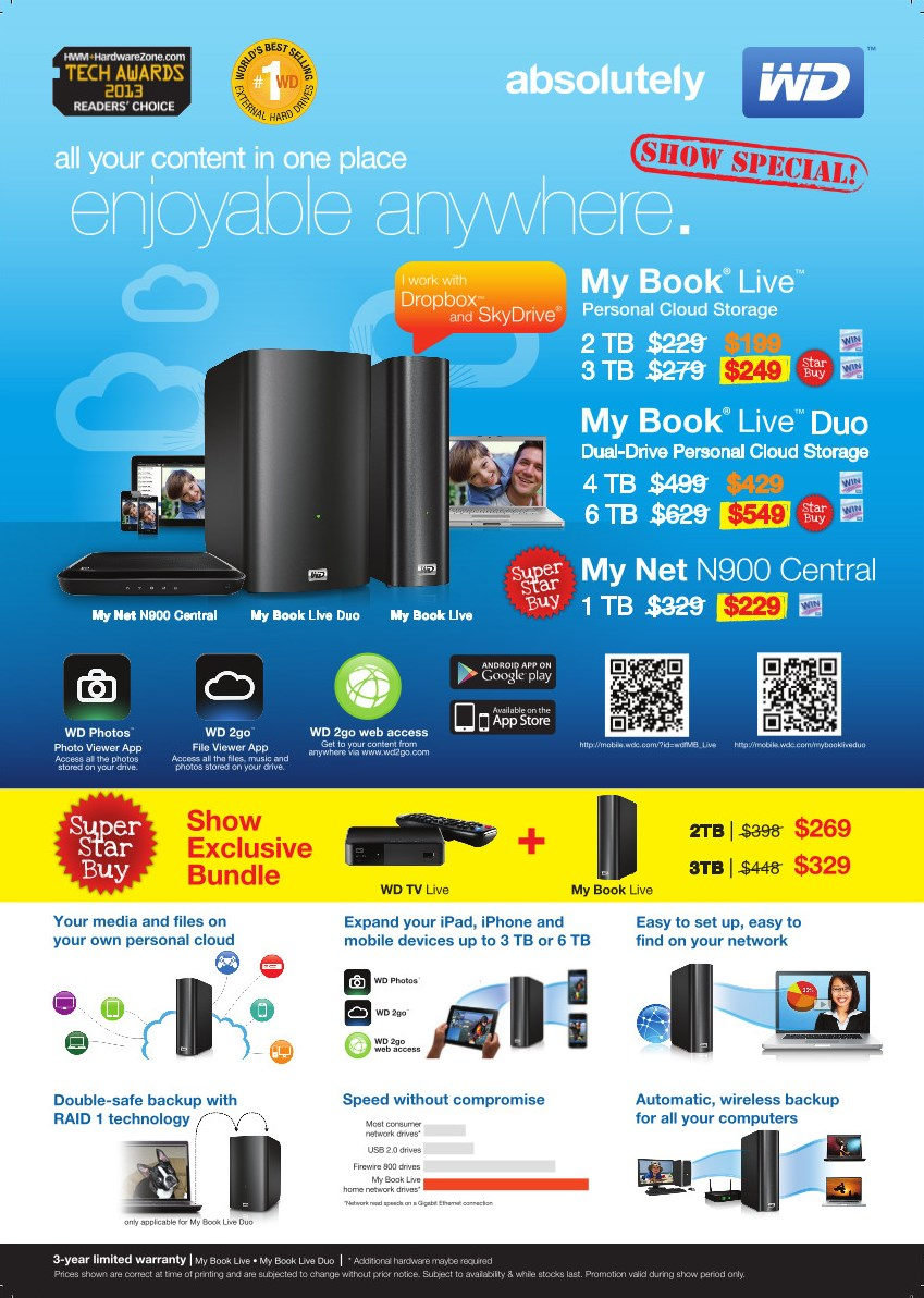 Western Digital at PC Show 2013 – GengHui's Technology and ...