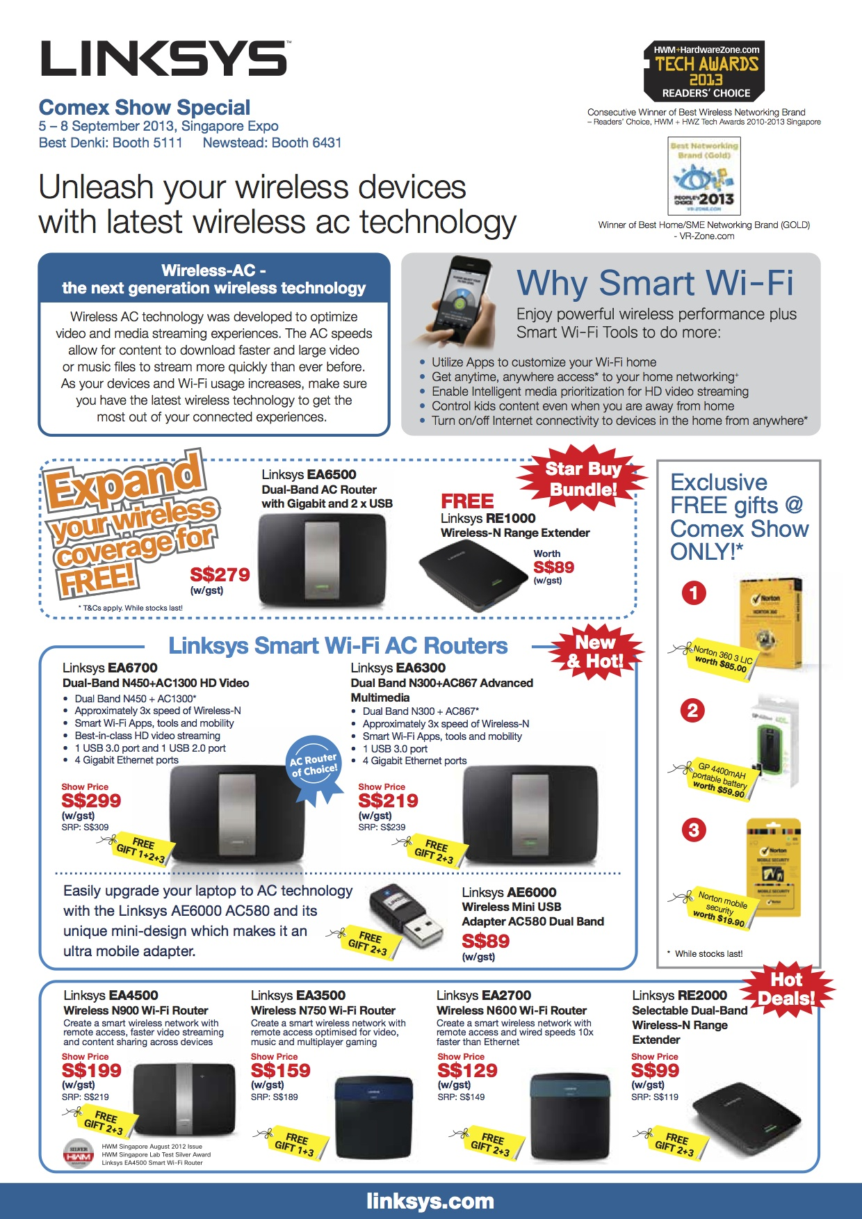 Linksys Archives - GengHui's Technology and Business Portal/Blog