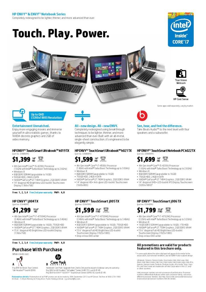 comex 2013 hp brochures genghui s personal homepage