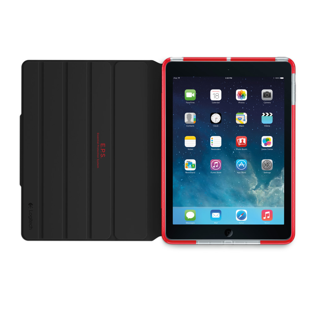 Logitech Big Bang for iPad Air - Magma Red (credit to Logitech SG) (4)