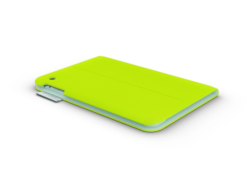 Logitech Folio Protective Case for iPad Mini - Acid Yellow_BTY2 (credit to Logitech SG)