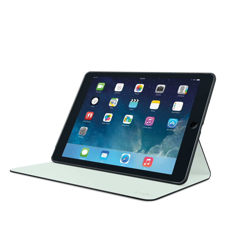 Logitech Hinge for iPad Air - Black (credit to Logitech SG) (6)