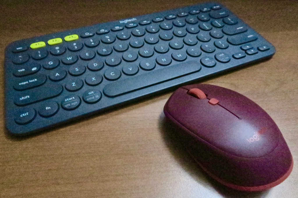 Logitech K380 Multi-Device Bluetooth Keyboard and M337