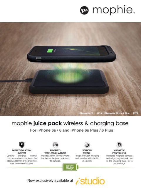 mophie Wireless Charging for iStudio (1)
