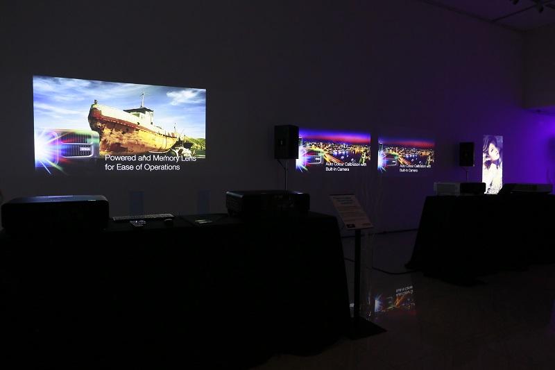 Epson's range of EB-L1000 series 3LCD Lamp-Free laser light source projectors