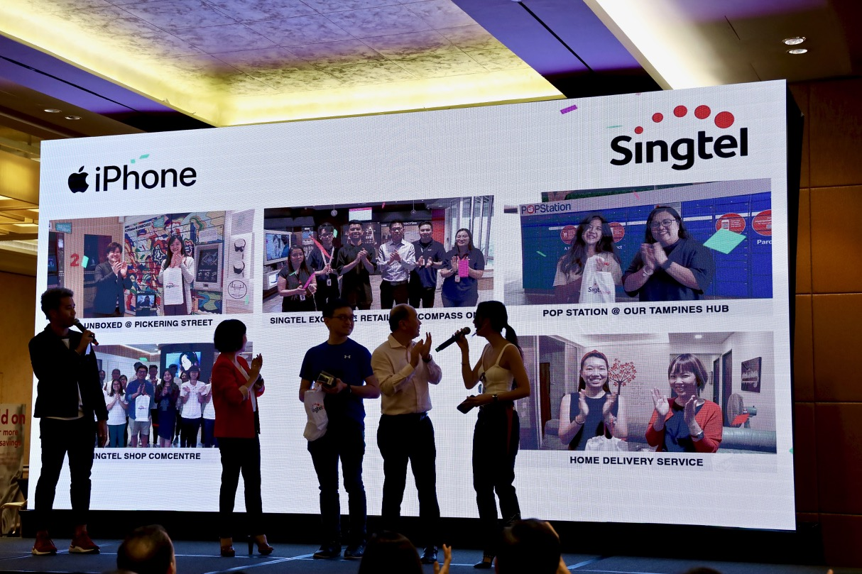 Singtel Launched Iphone 11 11 Pro And 11 Pro Max At Special Event At Mbs Tgh Technology And Business Portal Blog
